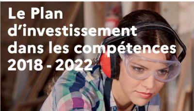 Bilan intermédiaire du plan d'investissement dans les compétences