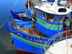 Fabriqué à Dieppe, le bateau-école du lycée maritime Anita-Conti de Fécamp a été mis à l'eau
