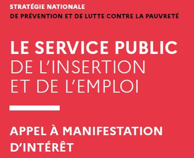 Appel à manifestation d'intérêt du Service public de l'insertion et de l'emploi