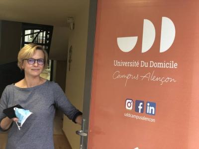 Première en France, l'université du domicile ouvre ses portes à Alençon