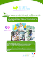 Les jeunes en emploi d'avenir en Normandie (16 p.)