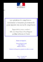 Rapport  de Jean-Marie Marx et René Bagorski, septembre 2018. - 49 p.