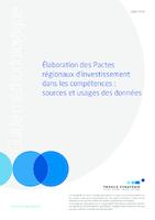 Elaboration des Pactes régionaux d'investissement dans les compétences