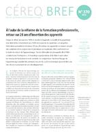 Bref Cereq n° 370 - application/pdf