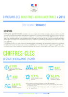 Panorama des Industries Agroalimentaires, Draaf, 2016. - 6 p.