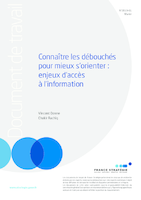 Connaître les débouchés pour mieux s'orienter: enjeux d'accès à l'information - application/pdf