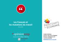Les Français et les mutations du travail, mars 2019. - 41 p. - application/pdf