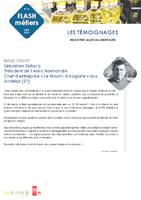 Flash métiers n° 16 (témoignages complets). - 2 p. - application/pdf