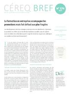 Céreq Bref n°374, mars 2019. -  4 p. - application/pdf