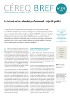 Cereq Bref n° 375, avril 2019 - application/pdf