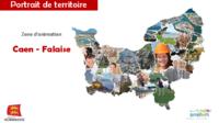Caen - Falaise : Portrait de territoire