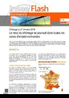 Insee flash normandie n° 88, octobre 2019. - 2 p.