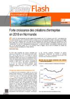 Insee Flash Normandie n° 87, octobre 2019. - 2 p.