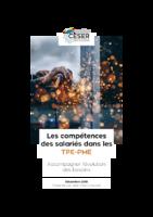 Compétences des salariés dans les TPE-PME : accompagner l'évolution des besoins, Ceser Normandie, 01/12/2019. - 126 p. + 3 p.