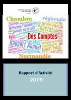 Rapport d'activité 2019, CRC Normandie, avril 2020. - 24 p.