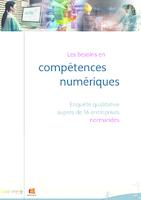 Les besoins en compétences numériques : enquête qualitative auprès de 16 entreprises normandes (26 p.)