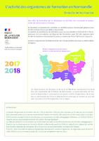 L'activité des organismes de formation en Normandie (8 p.)