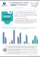 Les demandeurs d'emploi jeunes en Normandie à fin juillet 2020, Pôle emploi Normandie, 9/2020. - 7 p.