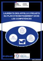 Lauréats des appels à projets du PIC en Normandie