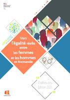 Vers l'égalité réelle entre les femmes et les hommes en Normandie : chiffres clés - édition 2021 (21 p.)