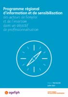 Catalogue Agefiph du programme régional de professionnalisation - juillet 2021 - application/pdf